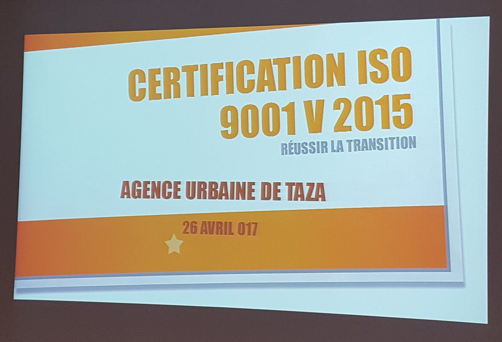 Taza, du 26 au 28 Avril 2017