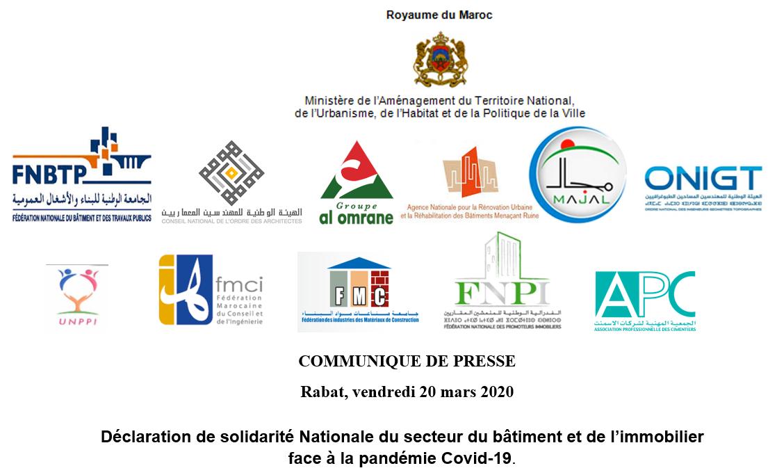 Rabat, vendredi 20 mars 2020